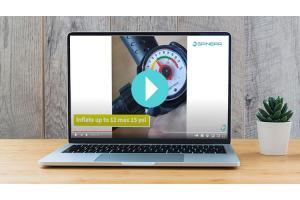 Spinera Video SUP aufpumpen und überprüfen