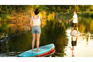 SUP Stand up paddeln macht Spaß Tour