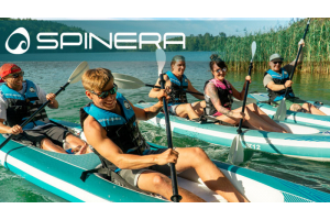 Spinera SUP Kajak Kayak Supkayak group of people in water boat