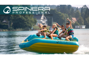 Spinera towables watersled race car children on bananaboat